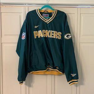 Packers Vintage Reebok Pullover